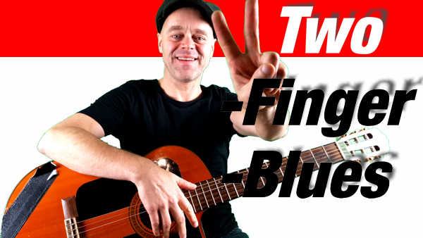 Blues spielen mit 2 Finger - Two-Finger-Blues