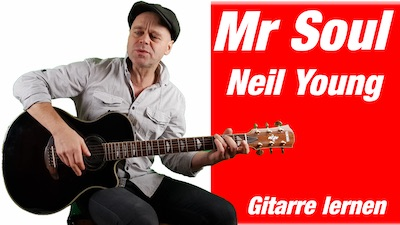 Mr Soul Neil Young Guitar lesson